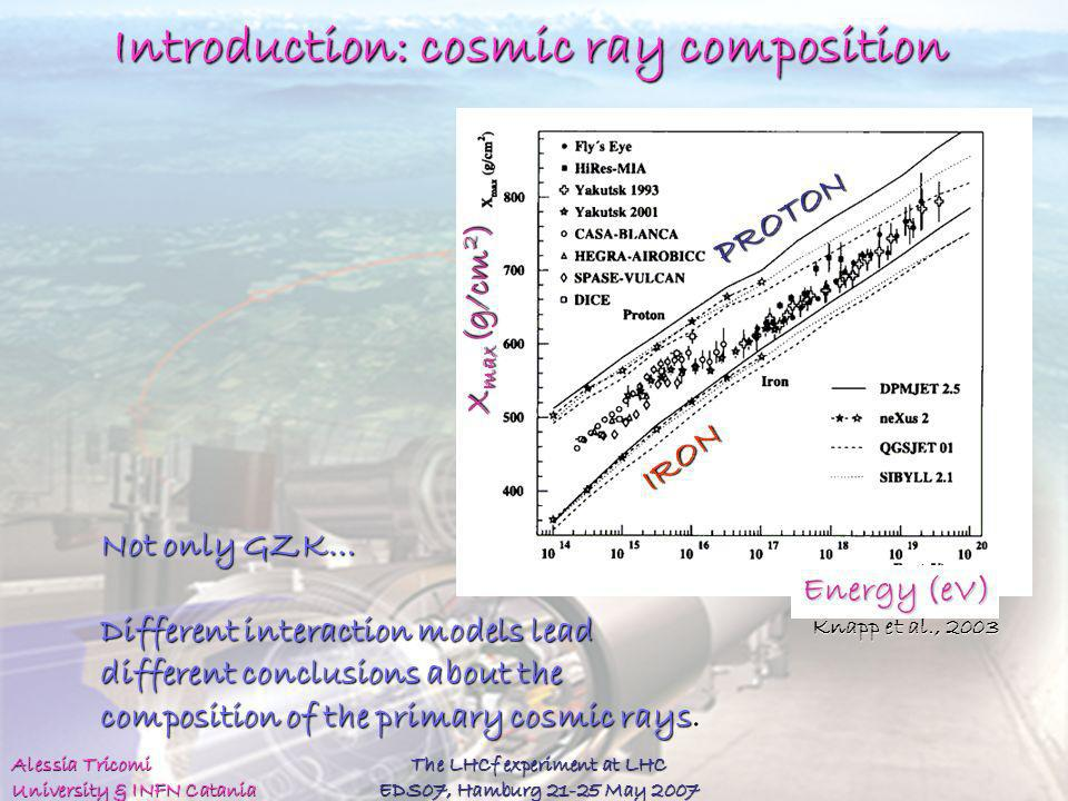 Introduction: cosmic ray composition