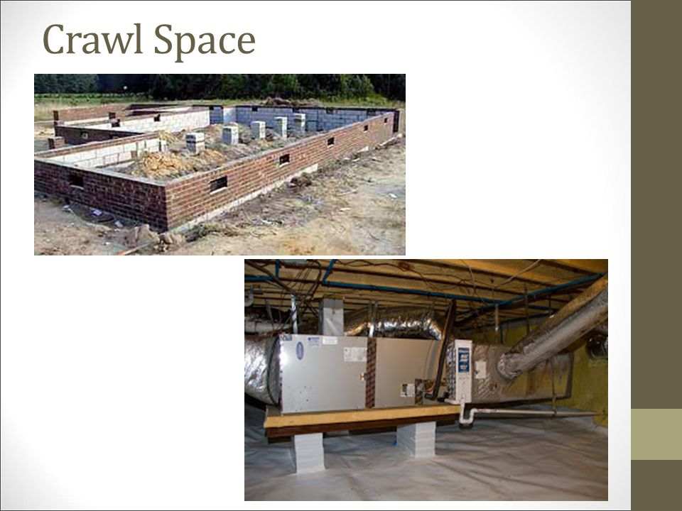 Assignment begin on page 197 the foundation ppt video for Slab foundation vs crawl space