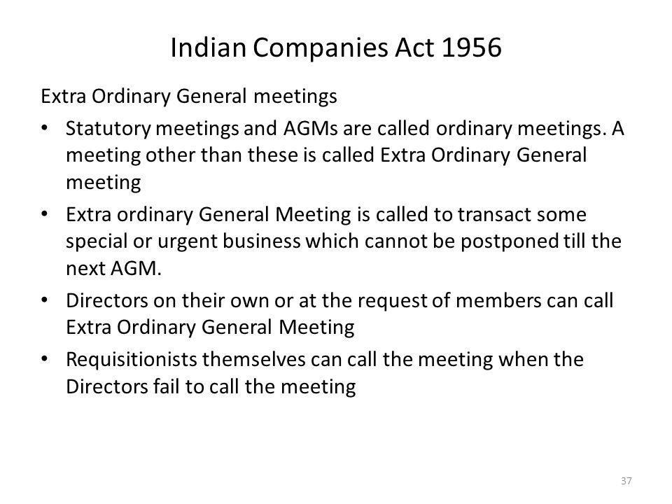 company act 1956