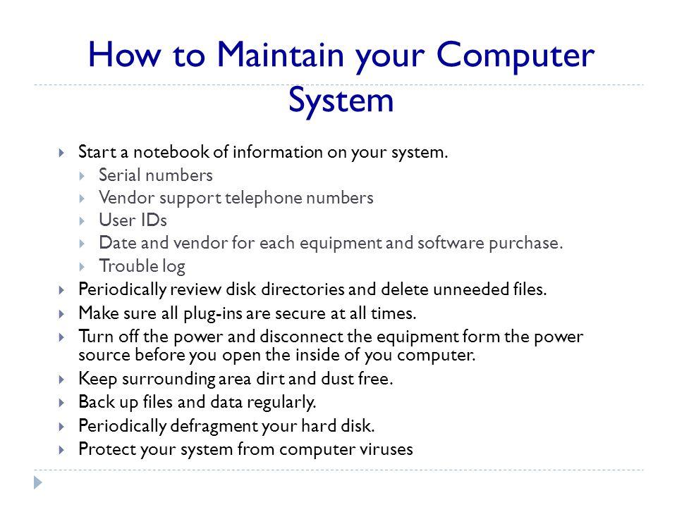 Computer Basics and its Components
