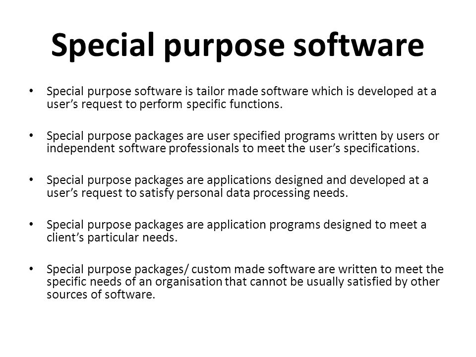 Computer Software Software Refers To Step By Step
