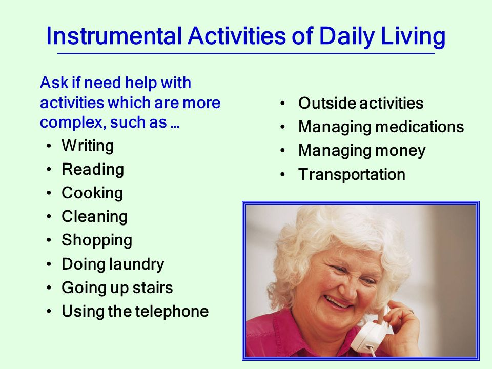 12 activities of daily living essay 12 hours ago activities of daily living they are essential activities of the daily living human life cannot be.