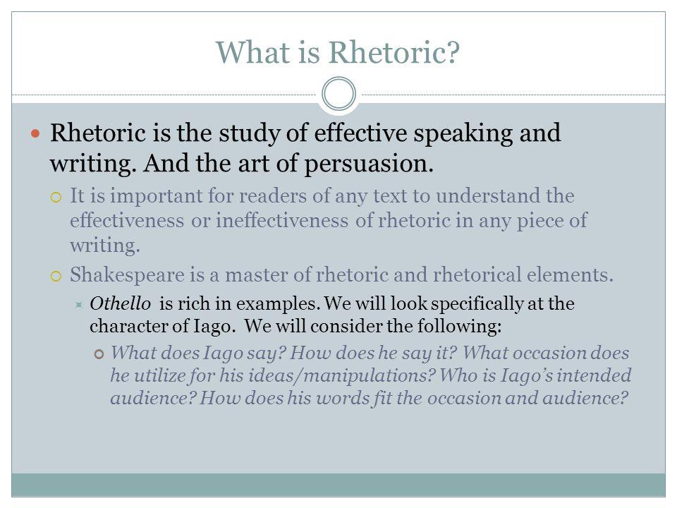 writing and rhetorical modes