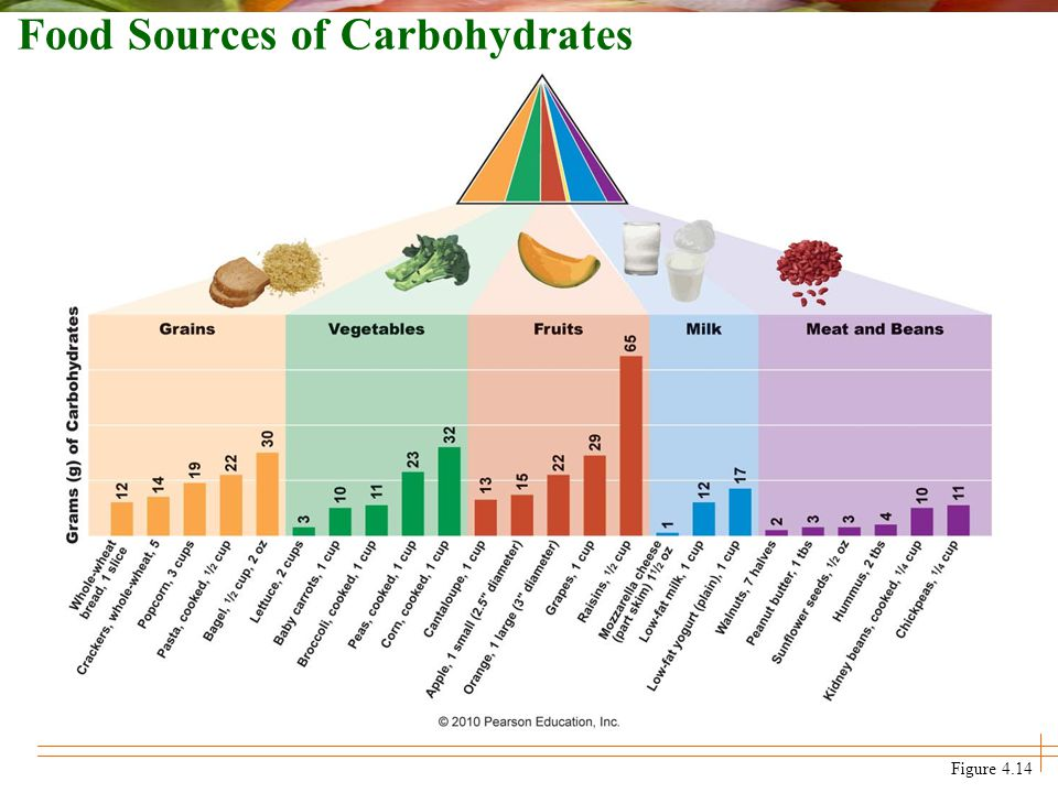 Chapter 4 Carbohydrates Sugars Starches And Fiber Ppt