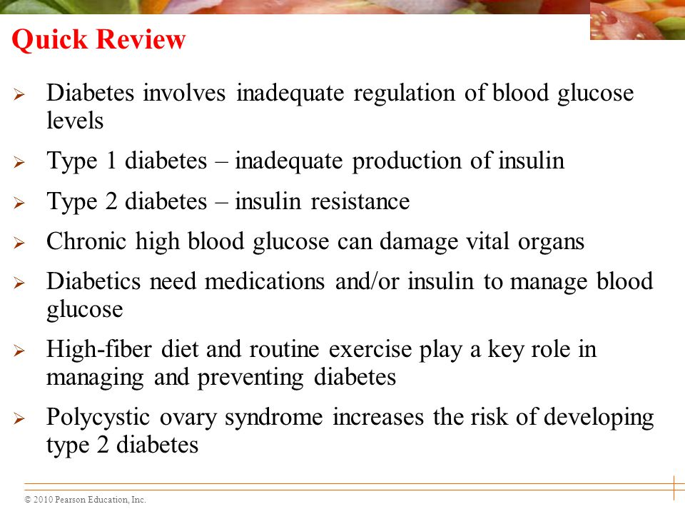 A Healthy Diabetic Diet