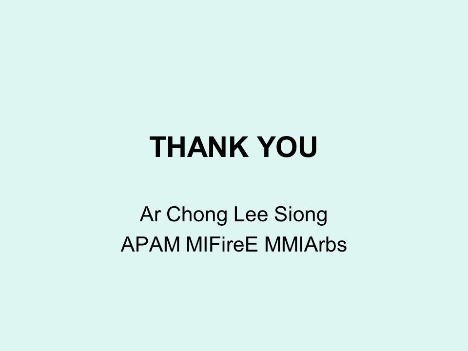 Ar Chong Lee Siong APAM MIFireE MMIArbs