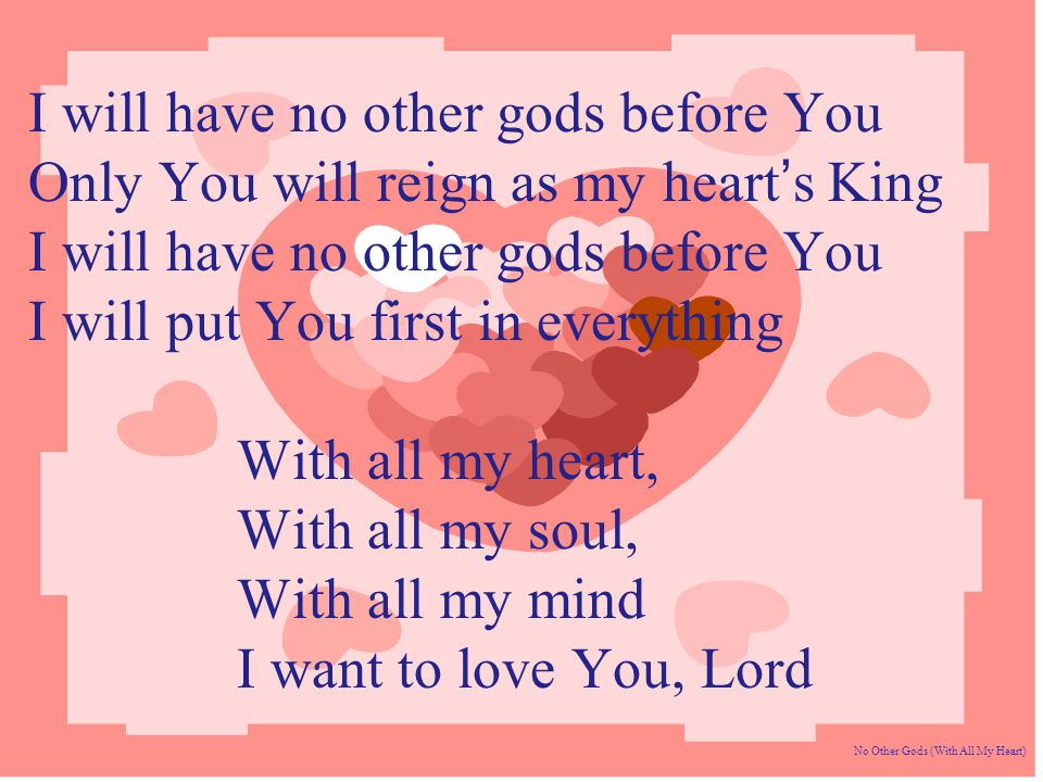 Lyric i will call upon the lord lyrics : Jesus is my Lord and King He's my brother , my best friend too ...