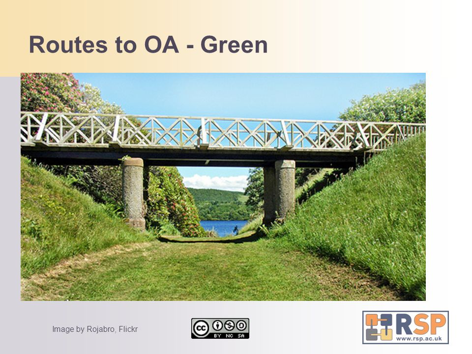 Routes to OA - Green Some text Some more text Another idea More stuff