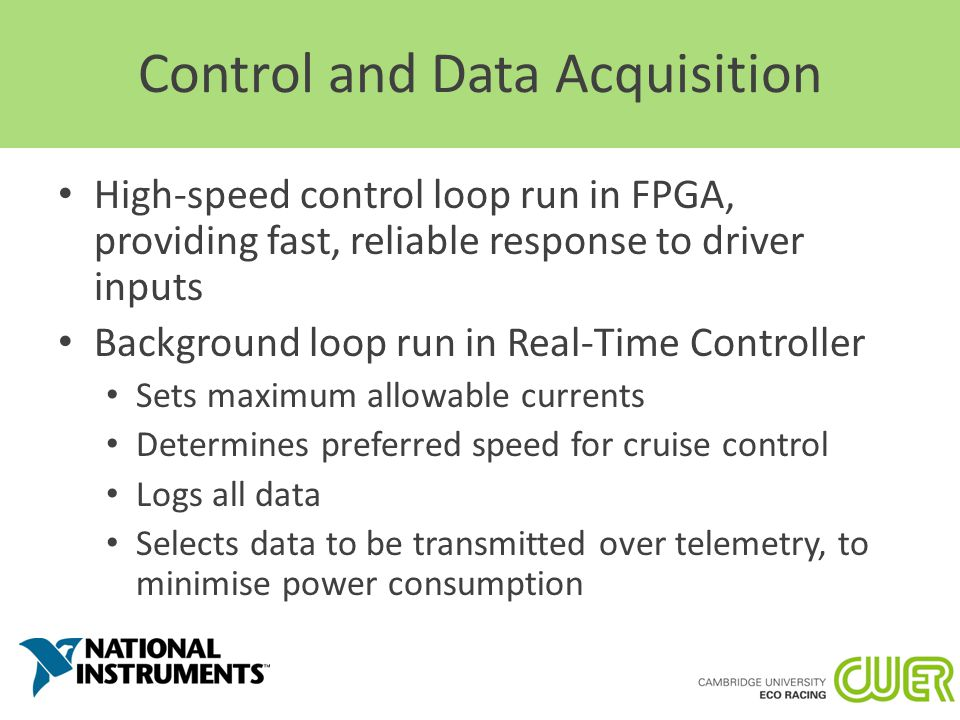 Data Acquisition And Control : Solar car electrical system overview ppt video online