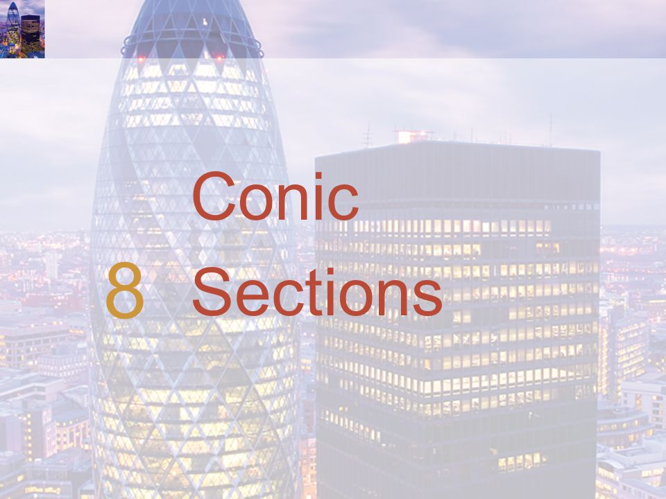 Conic Sections 8