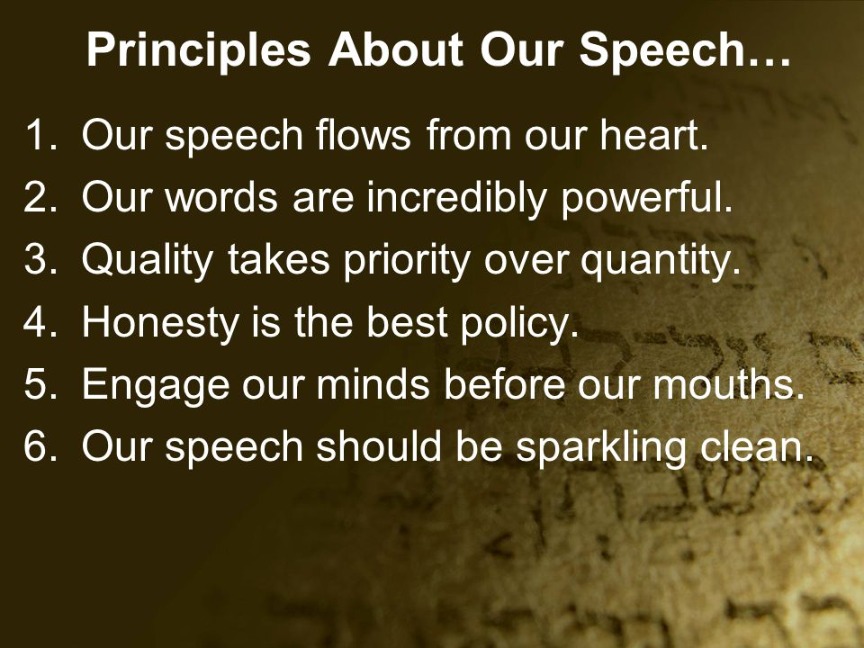speech on honesty Freedom of speech in written texts totally anonymous no fear of being  identified and penalized whoa, that's what geny was waiting for.