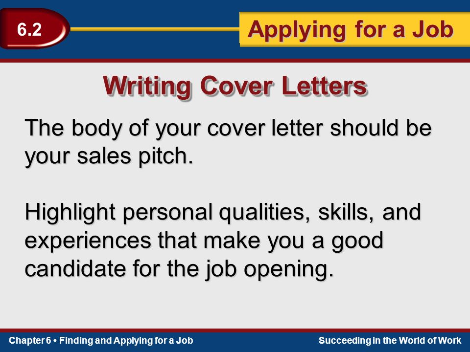 qualities to put in a cover letter It doesn't matter what position they are trying to fill — hiring managers are looking for candidates with leadership skills this doesn't necessarily mean that.