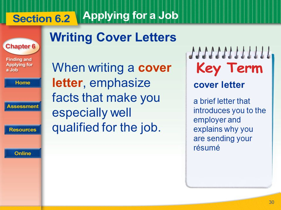 The difference between a cover letter and a letter of interest