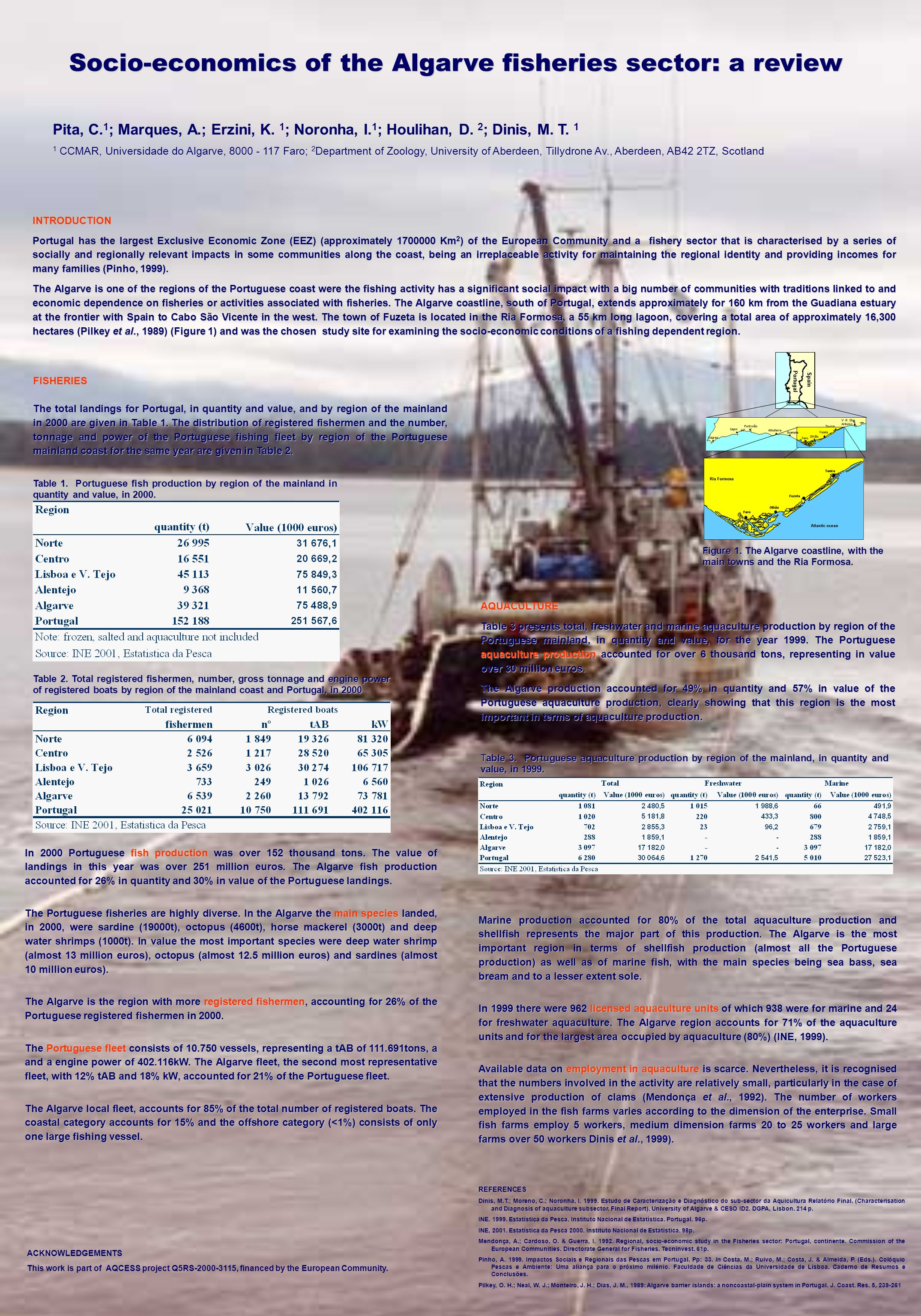 Socio-economics of the Algarve fisheries sector: a review