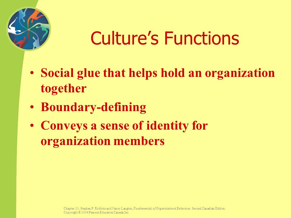 culture is the social glue that 'culture is the x-factor,' said noah rabinowitz, senior partner and global head of hay group's leadership development practice 'it's the invisible glue that toggle navigation.
