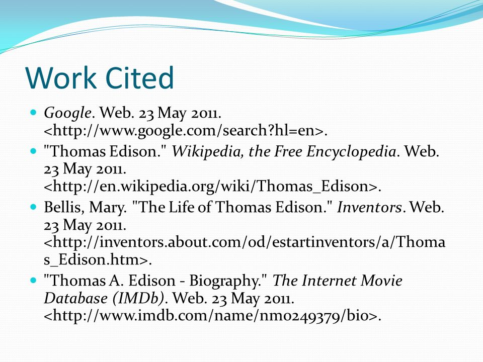 Thomas Edison By Joe Healy. - ppt video online download - photo#46