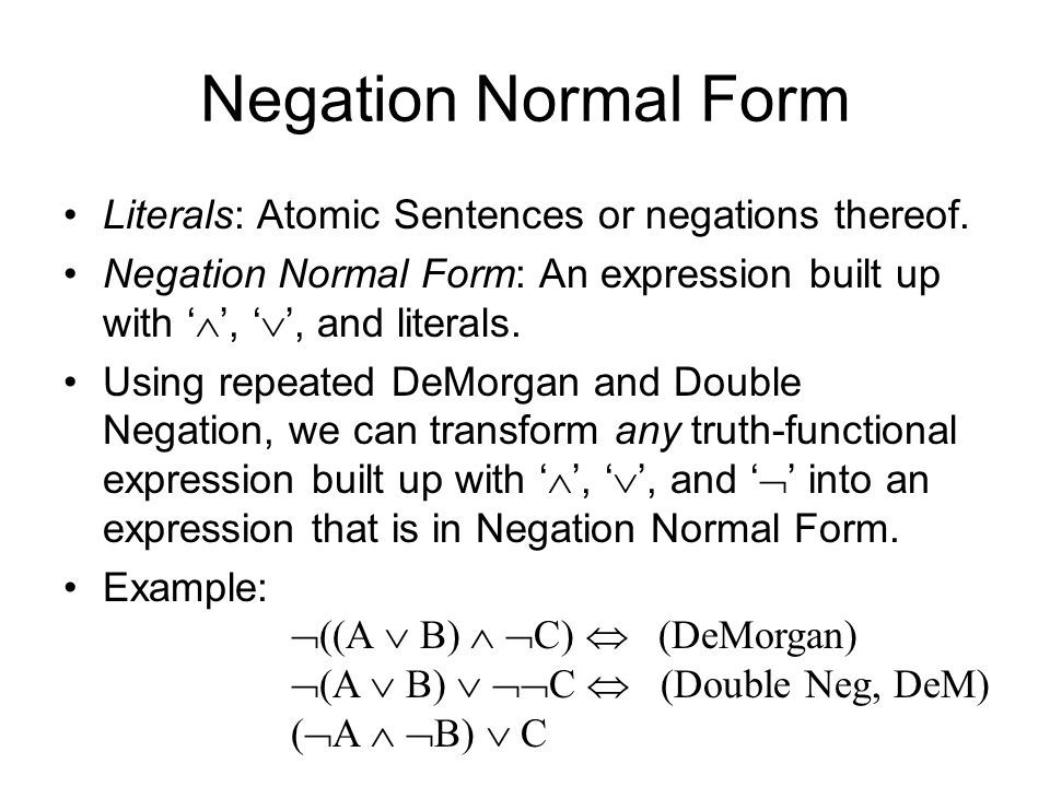 Propositional Logic Review - ppt video online download