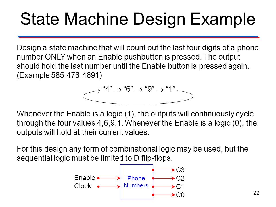 state machine designer