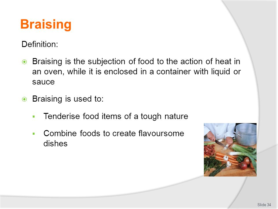 APPLY BASIC TECHNIQUES OF COMMERCIAL COOKERY - ppt download
