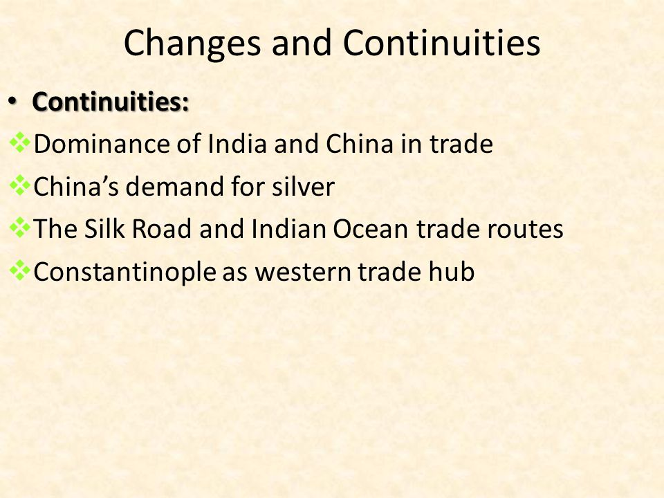 Trans Regional Trade Networks Ppt Download