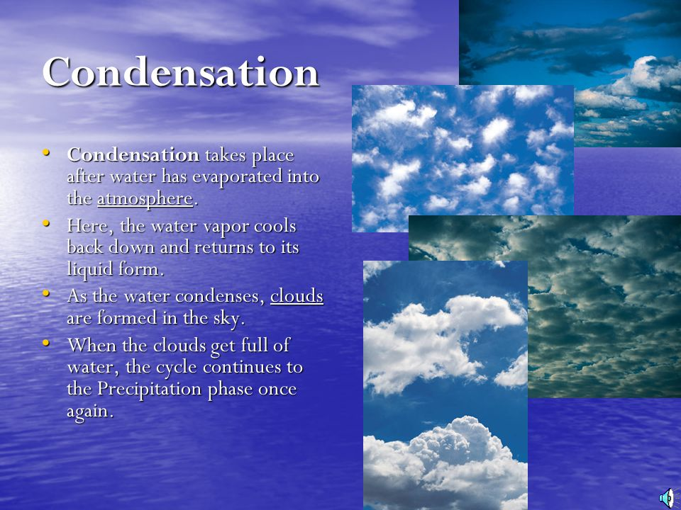 An Introduction to the WATER CYCLE - ppt video online download