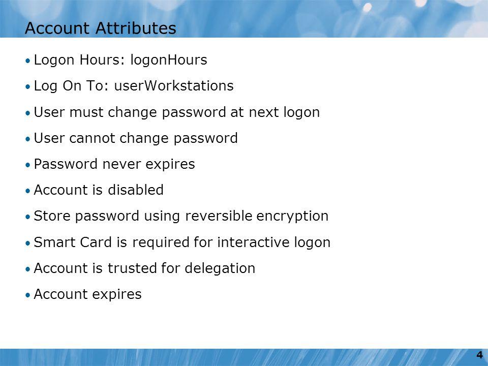 store login change password