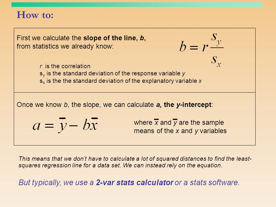 Objectives bps chapter 5 ppt download 7 how to first we calculate the slope ccuart Choice Image