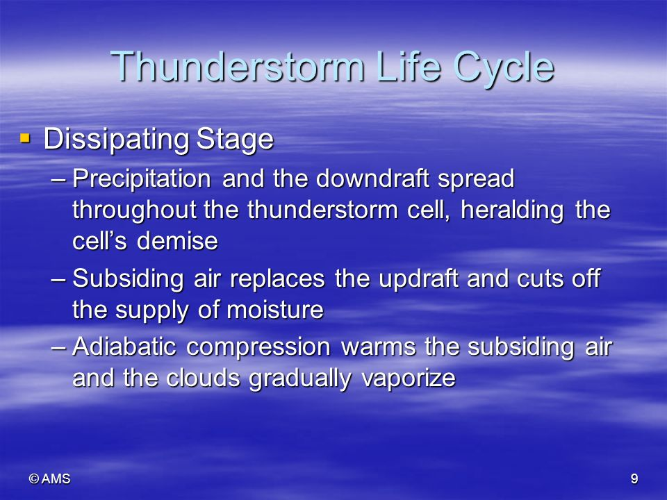 introduction of thunderstorms Meteoreology: thunderstorms and tornadoes - meteorology includes the study of the weather and climate the formation of thunderstorms - thunderstorm introduction according to harding (2011).