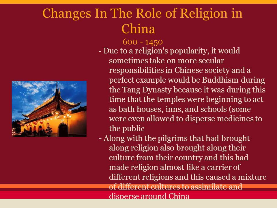 the role of religion in society throughout time This article explores the part shinto has played in japanese life and culture throughout the country's history, and its one of the standard classifications of shinto history reduces it to four government took a role in religion with the establishment of the 'department for.