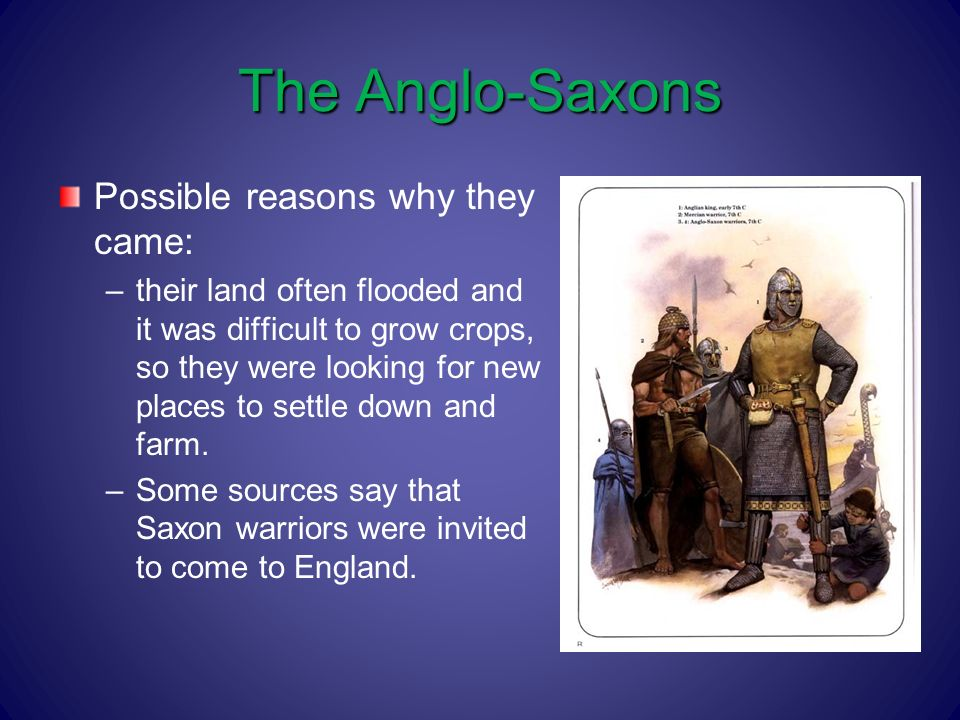 a look at the anglo saxon people and their lifestyles The anglo-saxons and beowulf a presentation by they feared humiliation and loneliness in their lives in addition, the anglo-saxons desired people, and.