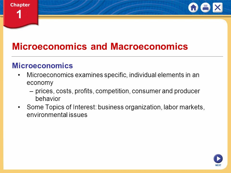 elements of microeconomics Variables are elements of economic models variables can be a characteristic of an economic agent, a number or quantity variables can be a characteristic of an economic agent, a number or quantity - microeconomics : in microeconomic models, the variables are usually individual, like the production of a business.