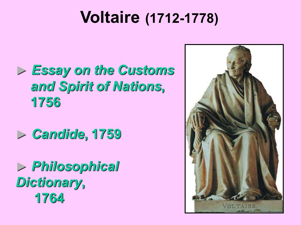 Voltaire essay on tolerance