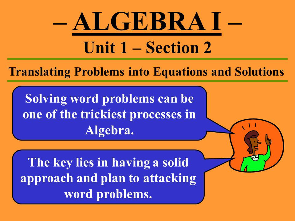 Solving Word Problems With Quadratic Equations