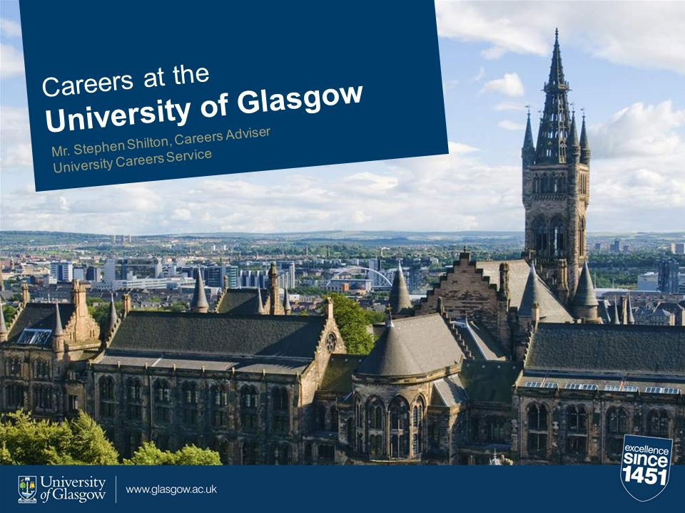 University of Glasgow Careers at the