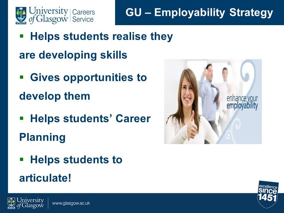 GU – Employability Strategy