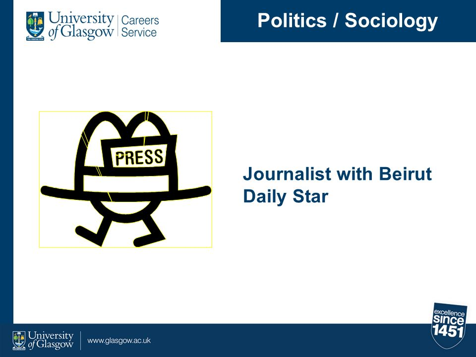 Politics / Sociology Journalist with Beirut Daily Star