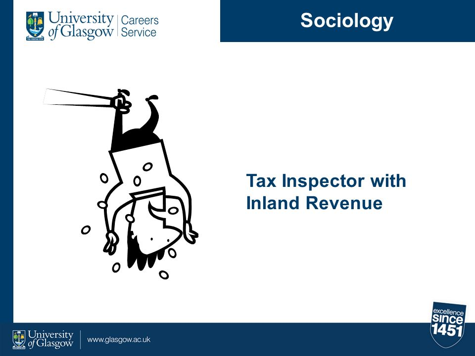 Sociology Tax Inspector with Inland Revenue