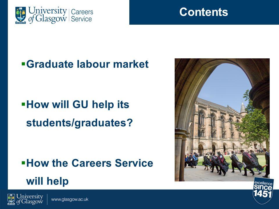 Contents Graduate labour market