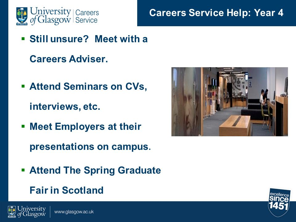 Careers Service Help: Year 4