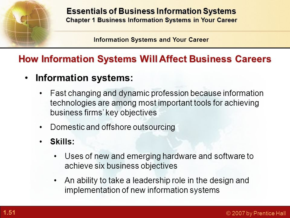 Business Information Systems in Your Career Essay Sample
