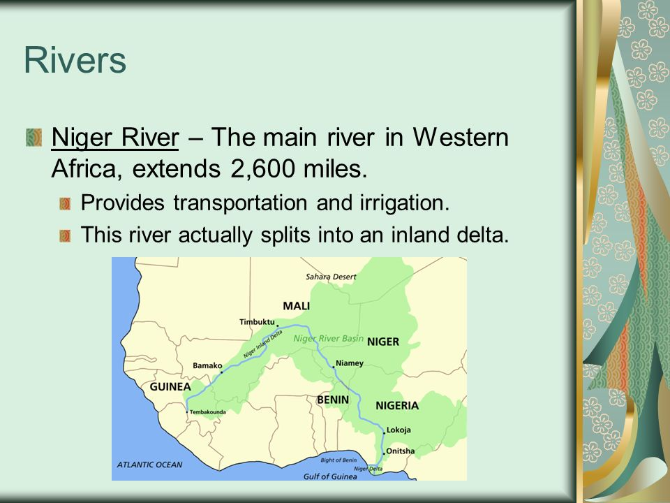 African Physical Features Ppt Video Online Download - Main rivers in africa