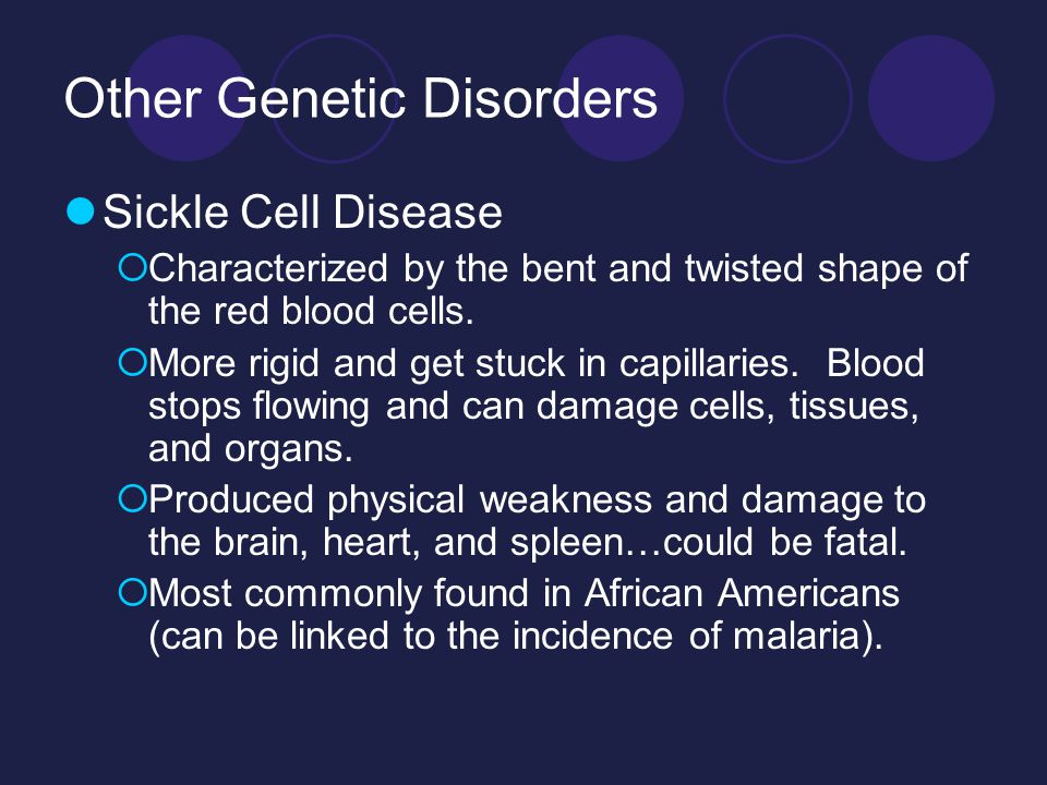 Other Genetic Disorders