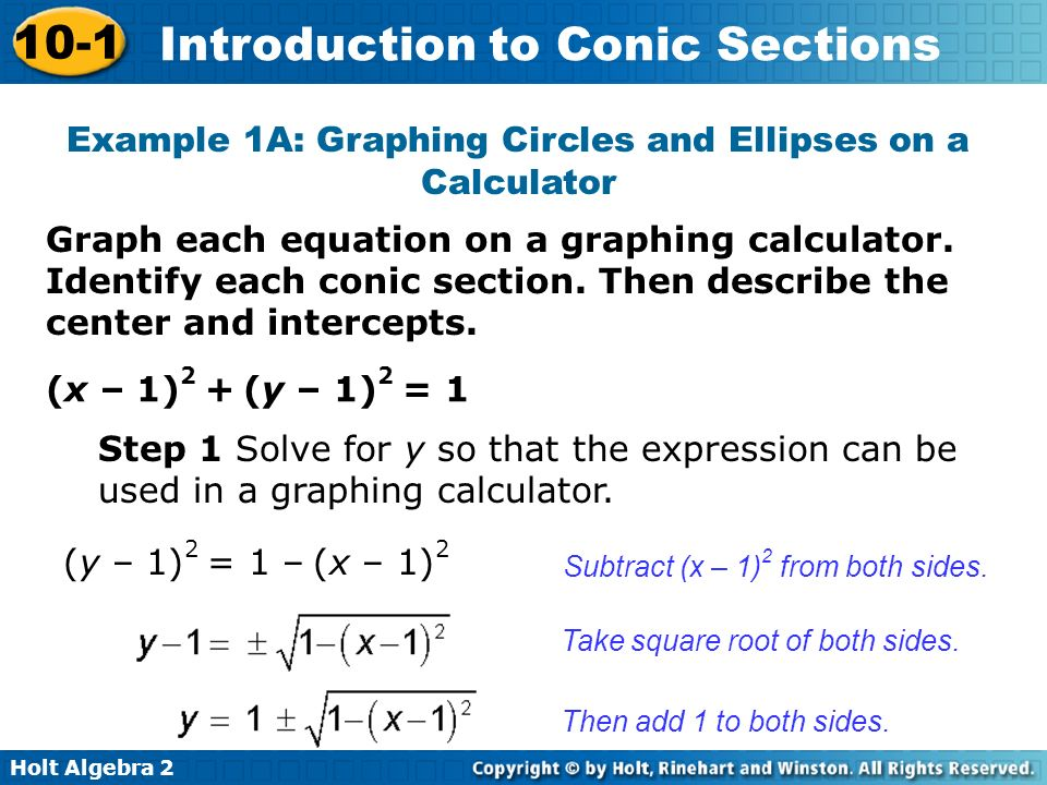 conic section essay An ellipse equation, in conics form, is always =1 note that, in both equations above, the h always stayed with the x and the k always stayed with.