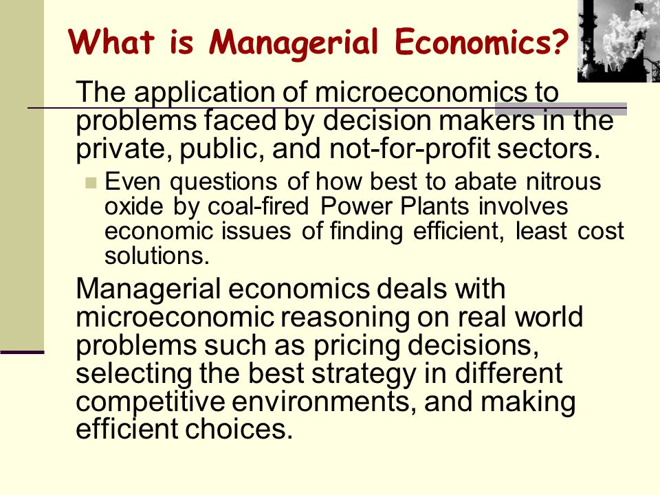 Managerial Economics Harvard Case Solution & Analysis