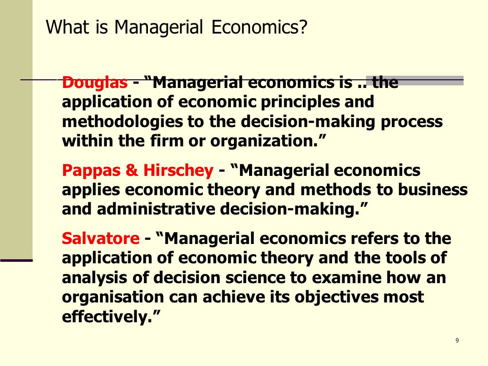 managerial economy Now in its eighth edition, dominick salvatore's managerial economics in a global economy continue to be a standard in the field and along with this expanded companion website, this text becomes an even more powerful teaching tool.