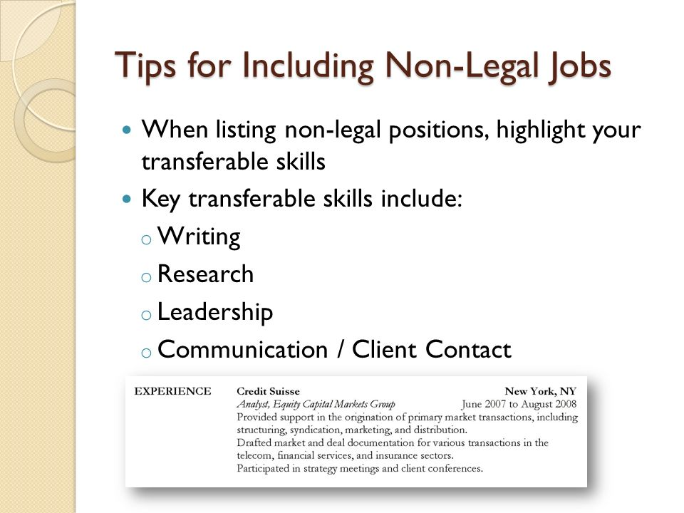 Legal Research and Writing Tech & Startup Jobs