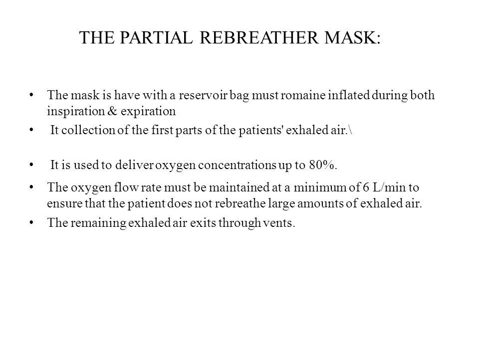define non rebreather mask