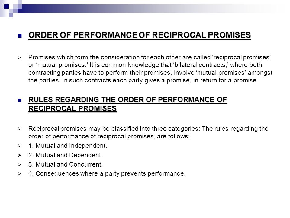 PERFORMANCE OF CONTRACT. - ppt video online download