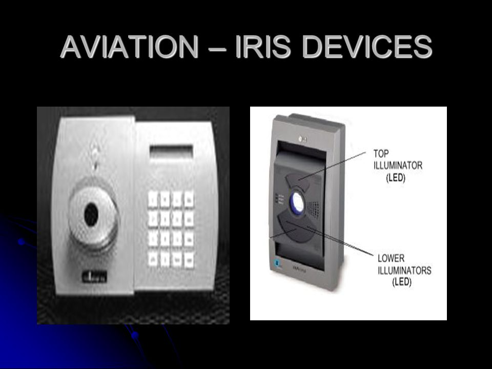 AVIATION – IRIS DEVICES