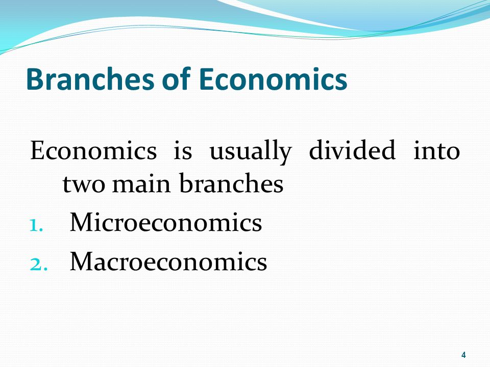 What is microeconomics the study of